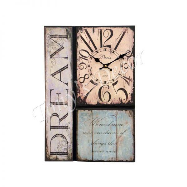 Арт часовник Dream, 30x45 см