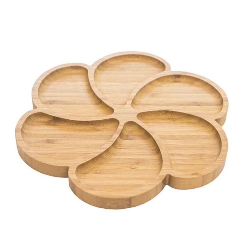Бамбуково плато за сервиране