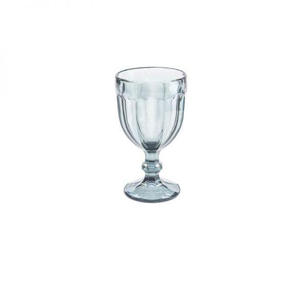 Чаша от стъкло със столче, Сива