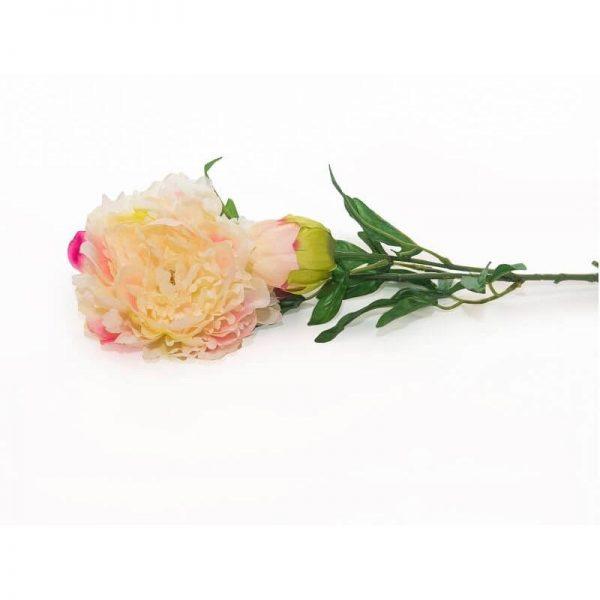 Изкуствени цветя божур, 80 см