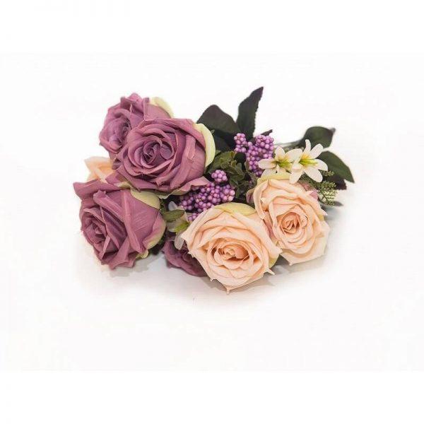 Изкуствени цветя букет Рози NU