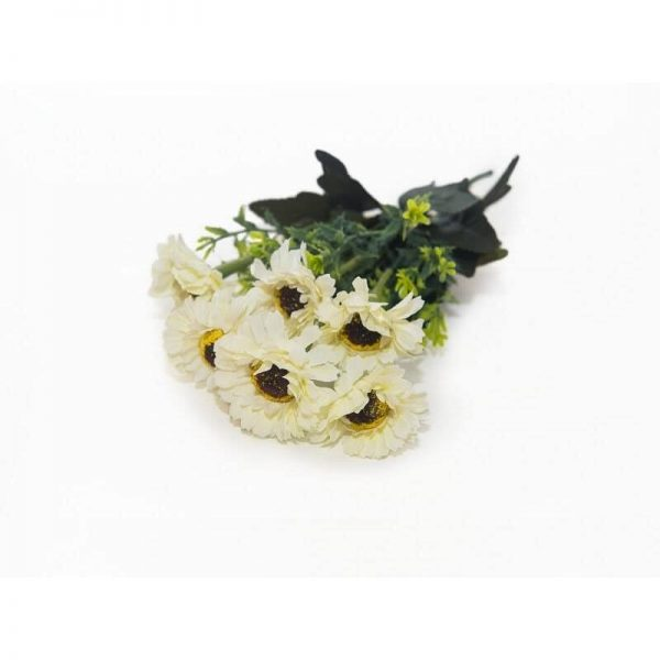 Изкуствени цветя - Хризантеми в 6 различни цвята, 30 см