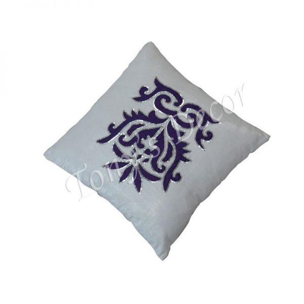Калъфка за възглавница с декорация паети, 40х40 см