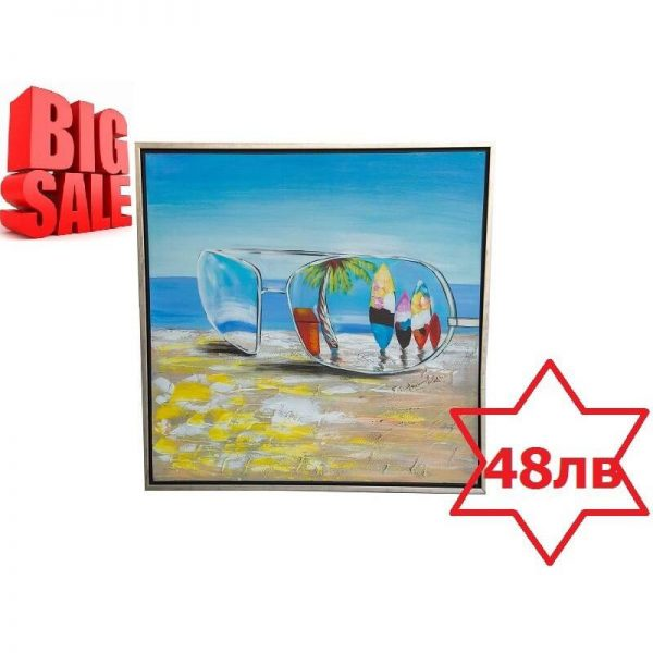 Картина Летен мотив, 85x85 см