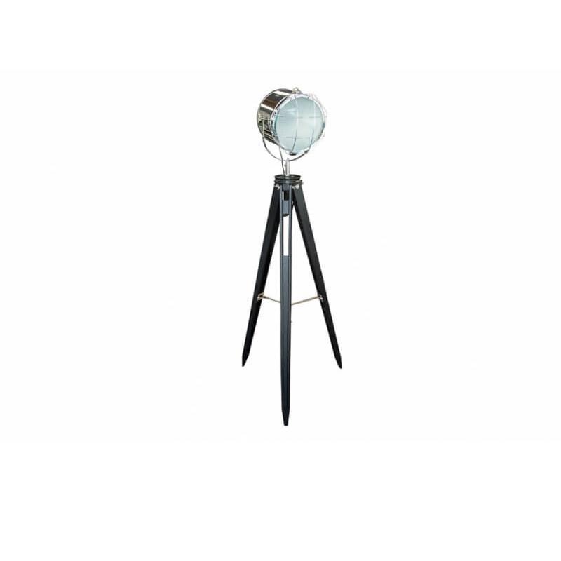 Лампа статив тип прожектор, черен