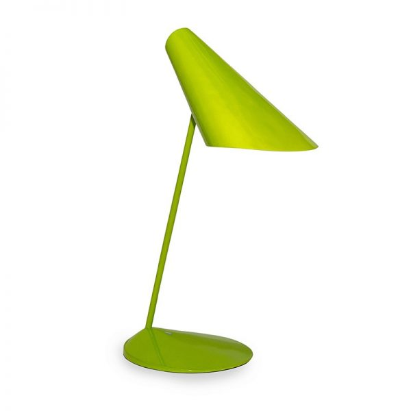 Настолна лампа, зелена, 20x60 см