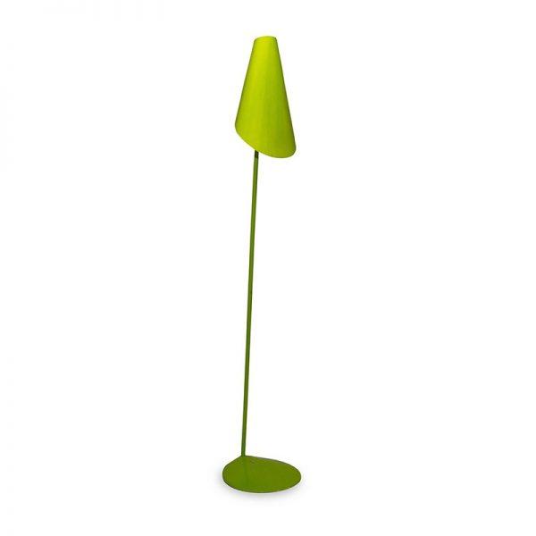 Настолна лампа, зелена, Ф24-28x130 см