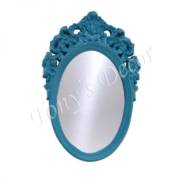 Огледало със синя рамка, 95x63см