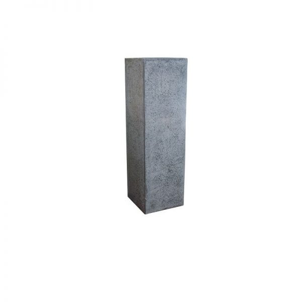 Постамент за ваза от камик Сив , 36x36x120 см