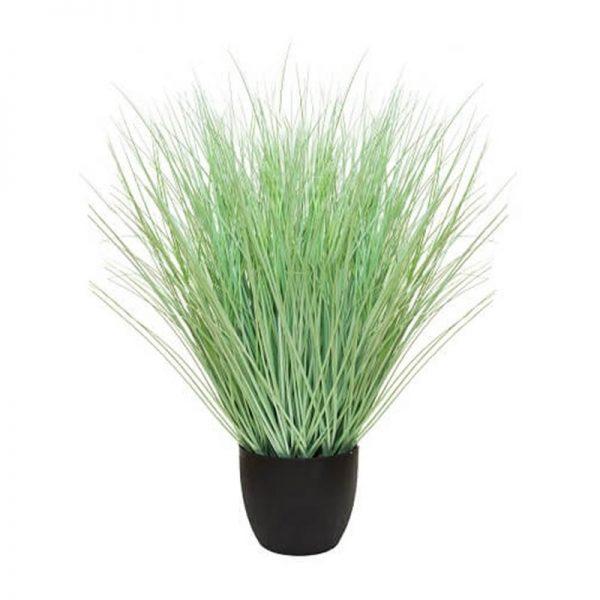Саксия с изкуствена Трева, 80х21х18