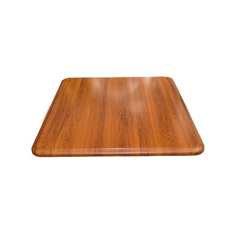 Верзалитов плот за маса, Кафяв, 80x80