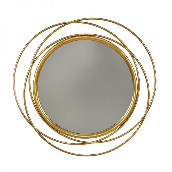 Огледало с преплетени кръгове, 80см