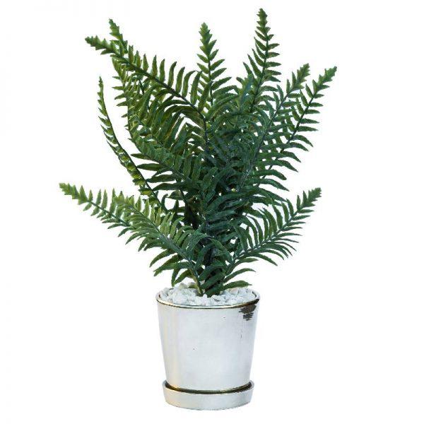 Изкуствени цветя в саксия, Растение в кашпа 10*10*40