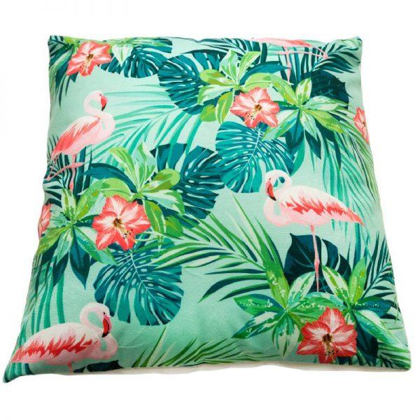 Възглавница с декорация Фламинго
