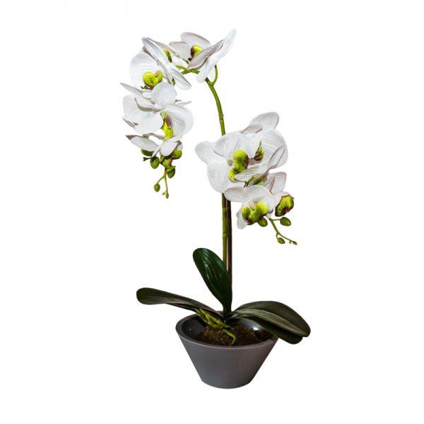Изкуствена орхидея в кашпа, 15*46см