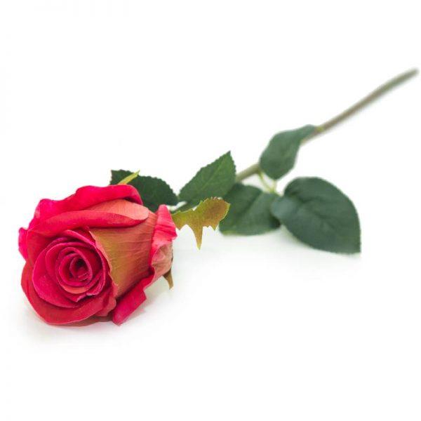 Изкуствени рози стрък/микс от цветове, 50см