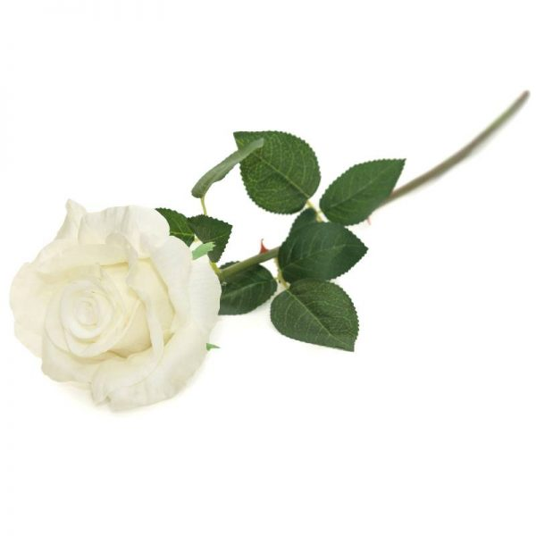 Изкуствени рози стрък, 75см