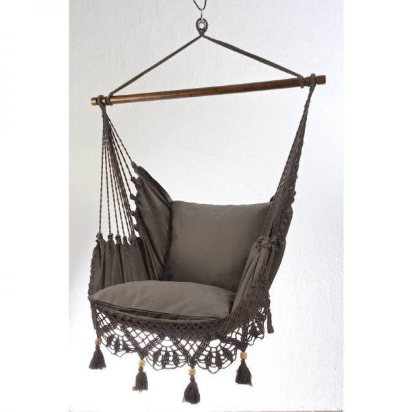 Стол-хамак , цвят сив