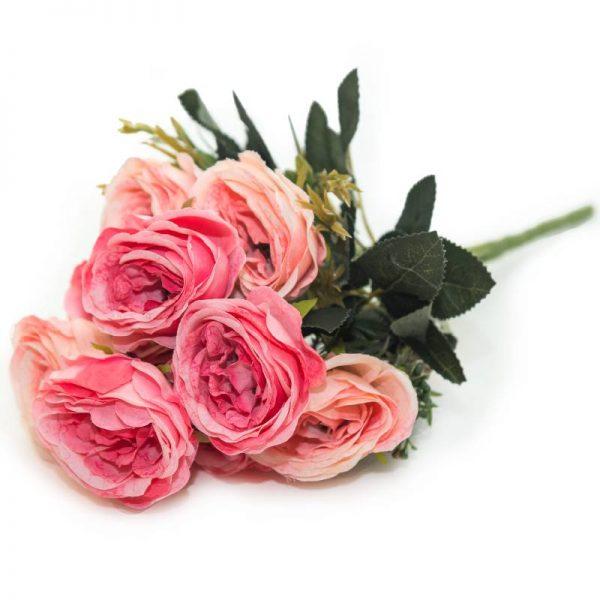 Букет декоративни розички/ микс от цветове