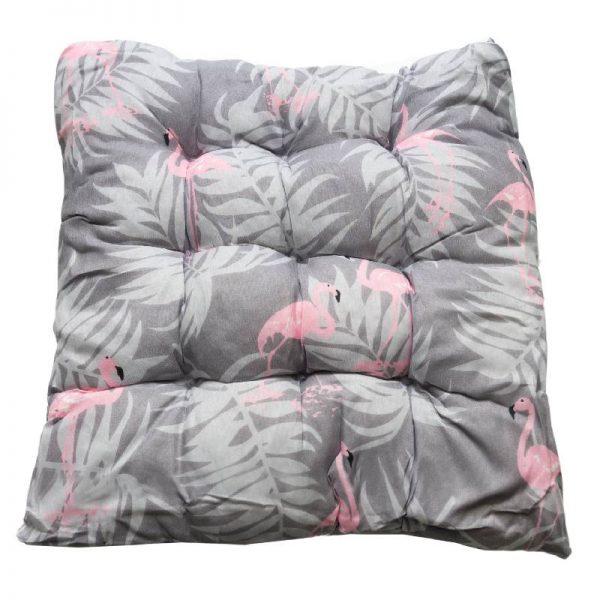 Възглавница за стол фламинго