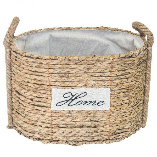 Плетен панер Home 33*27*24см