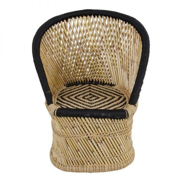 Бамбуков стол Жава, 65*45*80см