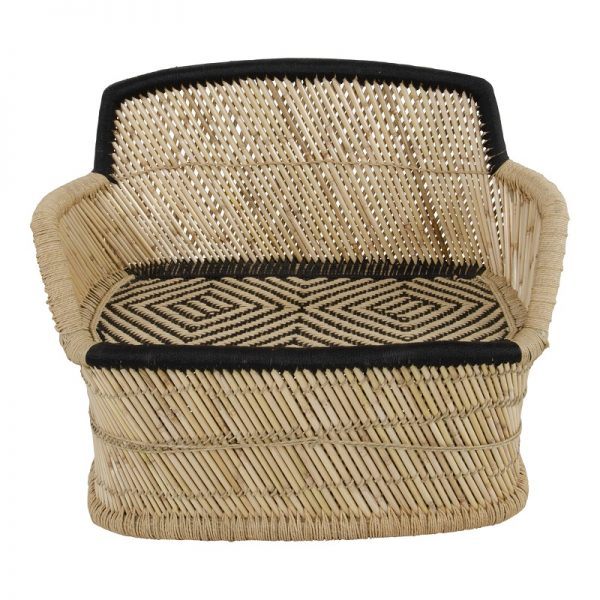 Бамбукова пейка Ломбок, 104*46*89см