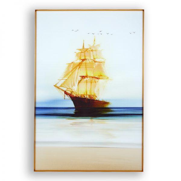 Картина кораб, 80*120