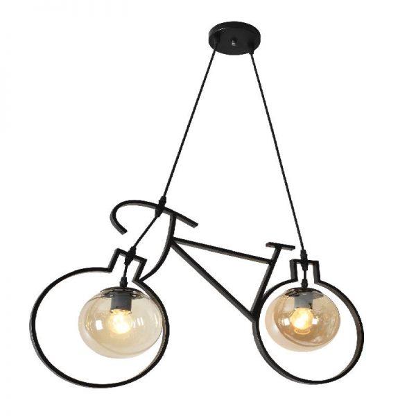 Метална лампа велосипед