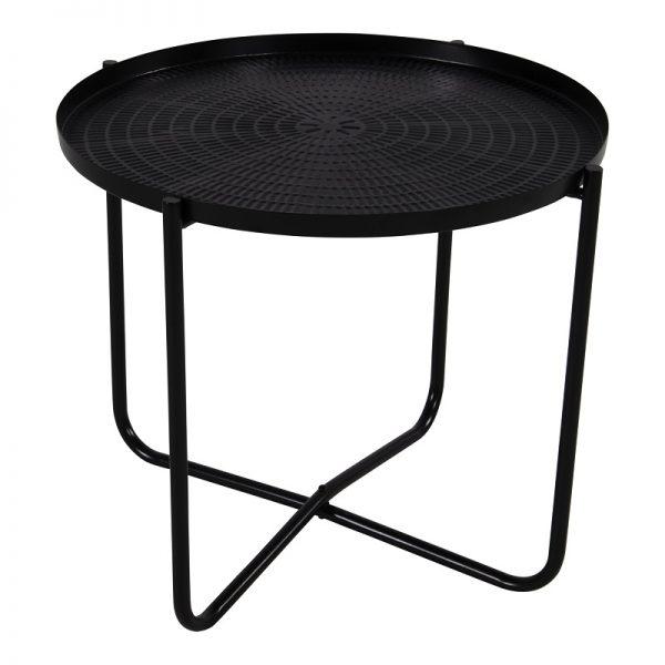 Помощна маса с черен плот, 40.5*35см