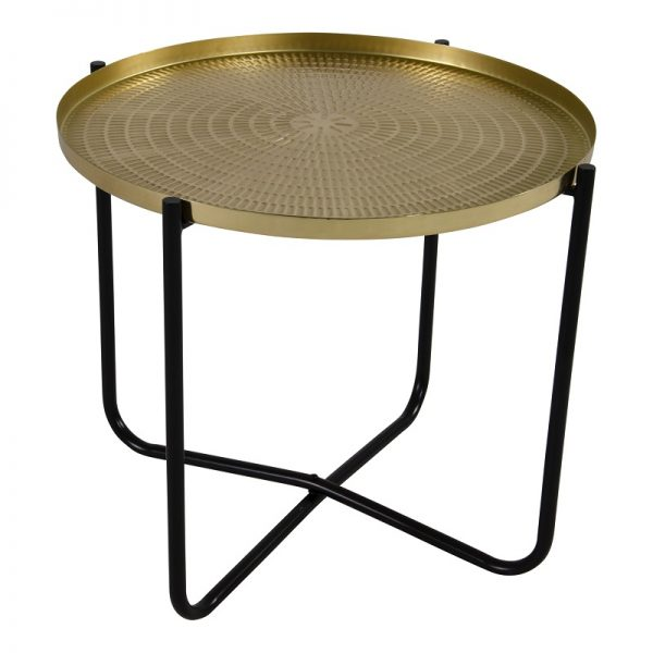 Помощна маса с златен плот, 40,5*35см