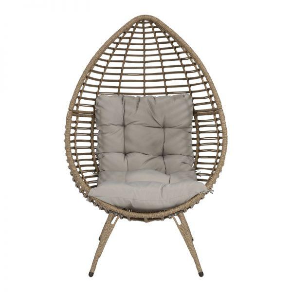 Градински релакс стол, 99*91*156см