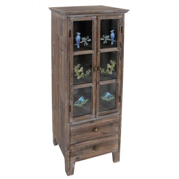 Дървен шкаф Авем, 43*36*120см
