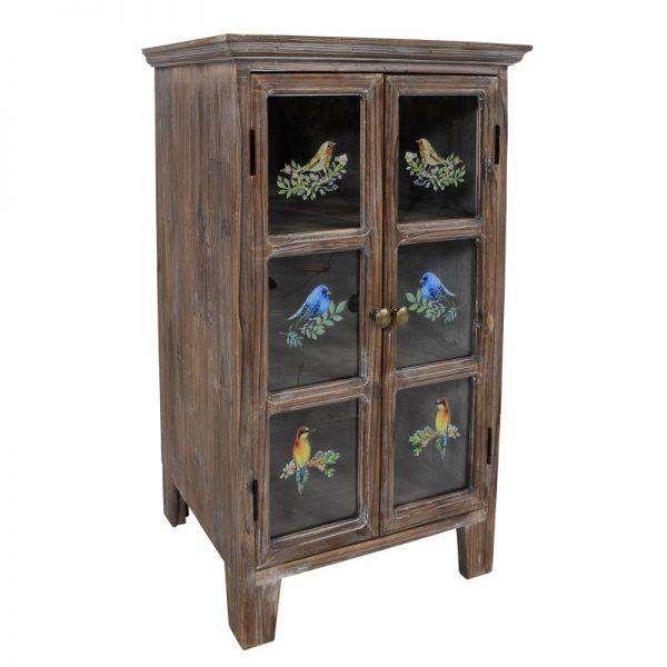 Дървен шкаф Авем , 43*36*70см