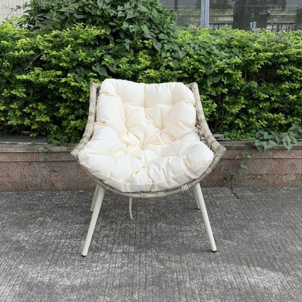 Градински стол от ракита, 71*74*83см