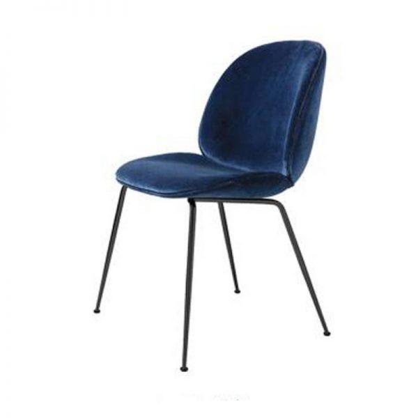 Кадифен стол в различни цветове, 60*47*85см