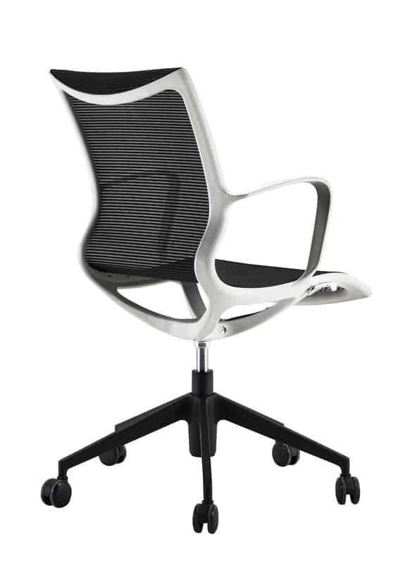 Офис стол - черна мрежа, 56*59*48H*94H
