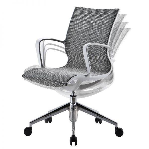Офис стол - сива мрежа, 56*59*48H*94H