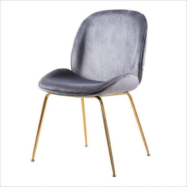 Стол кадифе в различни цветове, 60*47*85см