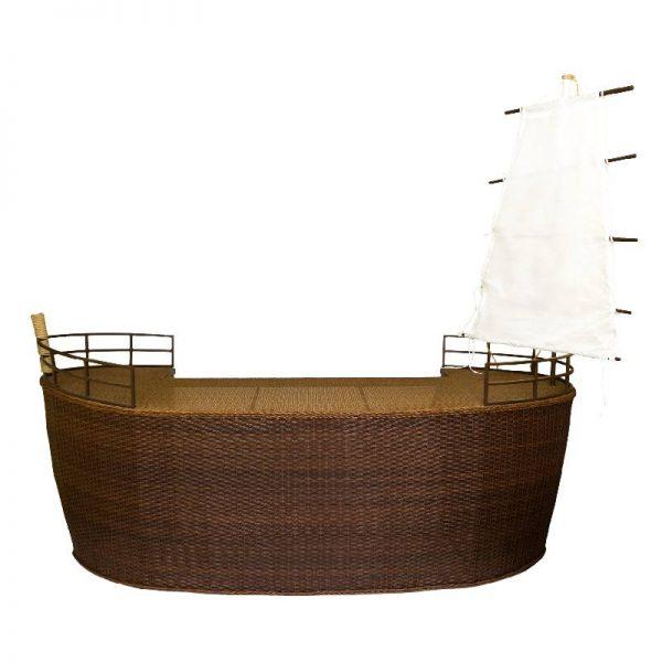 Бар Лодка, 290*110*280см