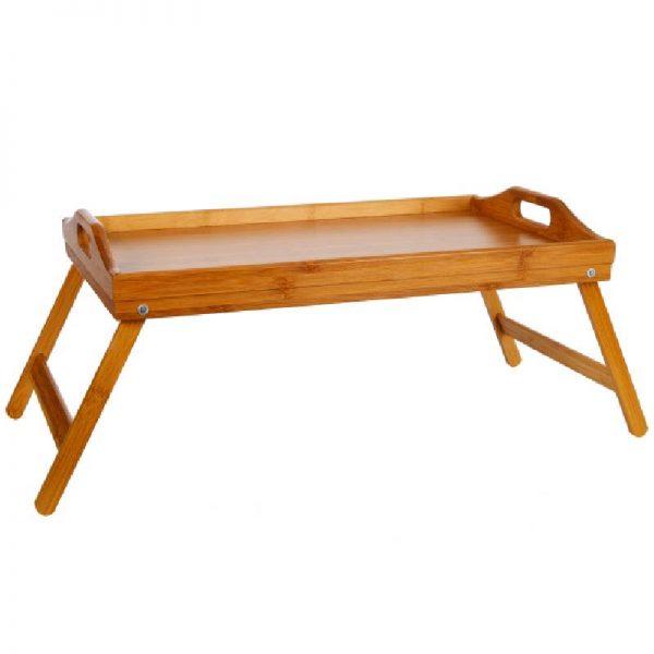Бамбукова масичка за сервиране, 50*30 см