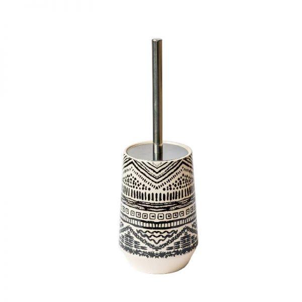 Четка с керамична стойка, в 4 десена