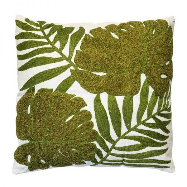 Декоративна възглавница с Палмови листа, 43*43см