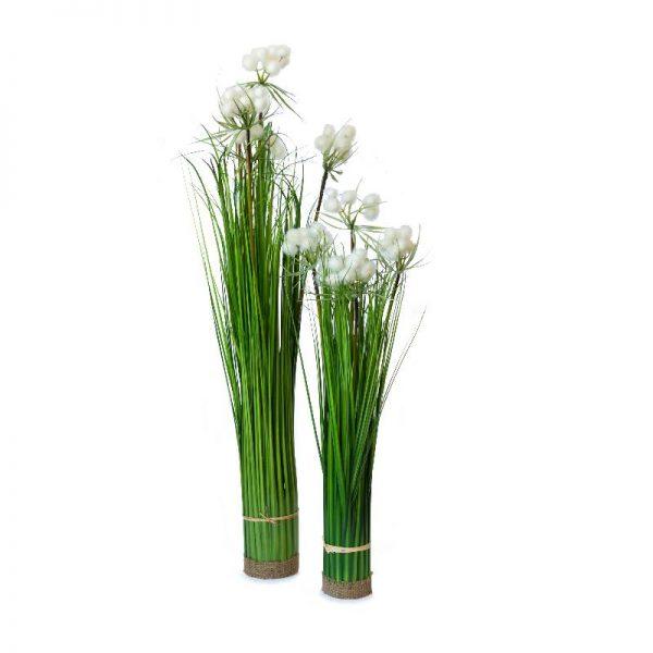 Изкуствена памук трева, 2 размера