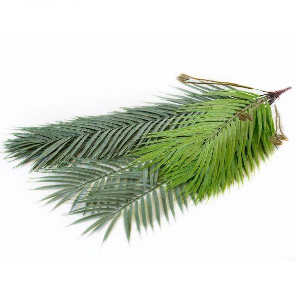 Изкуствено висящо растение- палмови листа, 71см