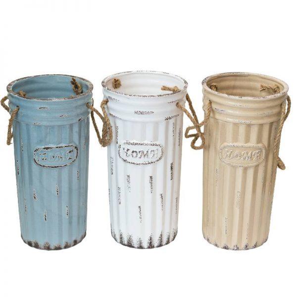 Керамична ваза със състарен ефект, 27 см
