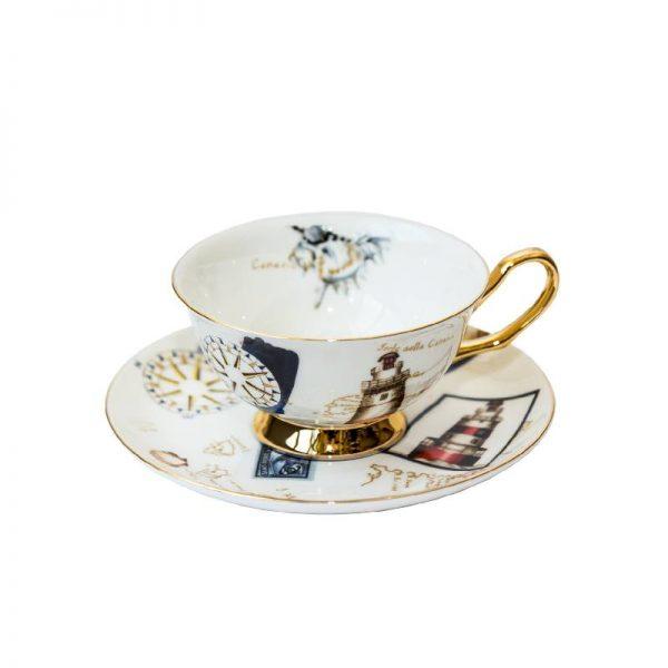 Луксозен сет за чай.