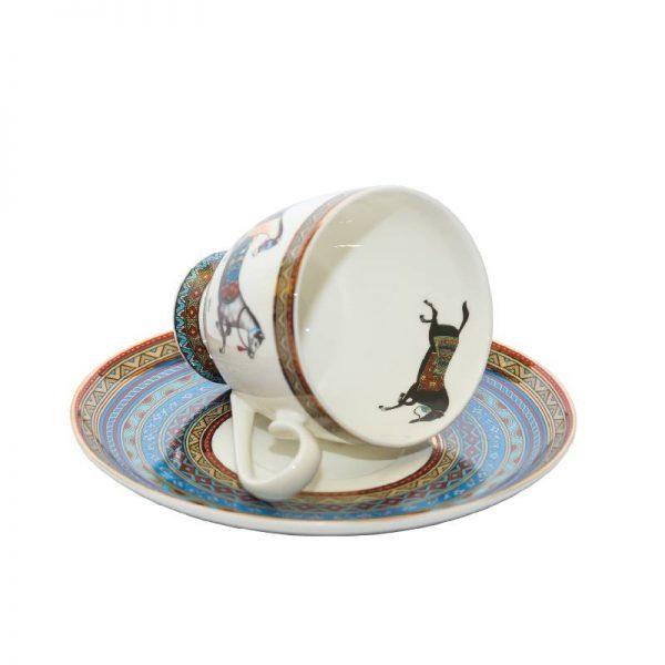 Сет чаша с чинийка, Hermes