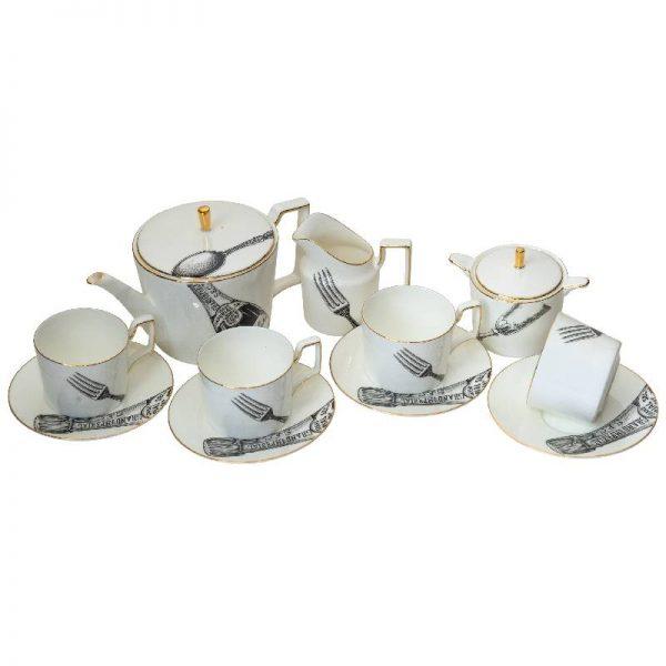 Сервиз за чай и кафе, 11 части