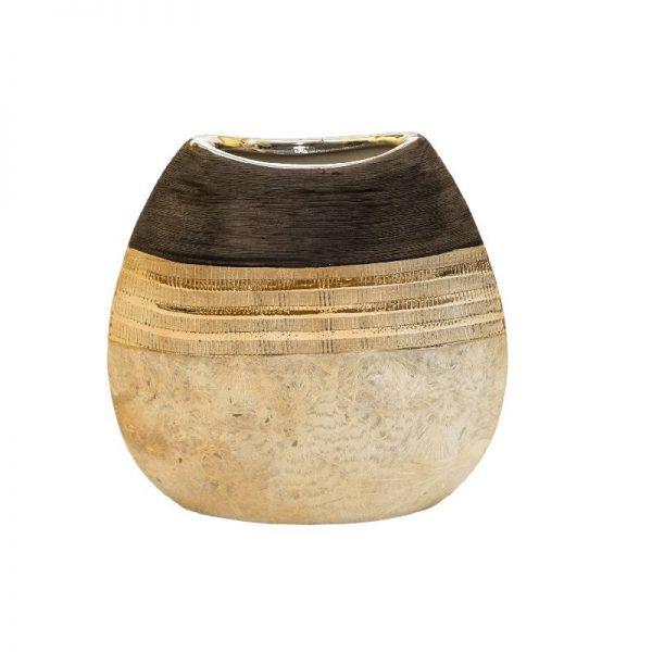 Декоративна ваза, 18*5.5*19см